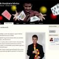 Weboldal tervezés | Horváth Benjámin bűvész