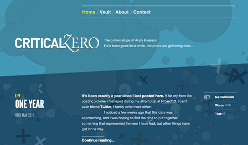 Kék weboldalak | %cagegory | webdesign inspiráció honlapkészítés