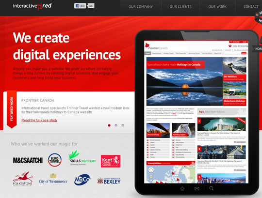 Ha weboldal, legyen vörös! | weboldal keszites friss  | webdesign web vörös szín honlapkészítés