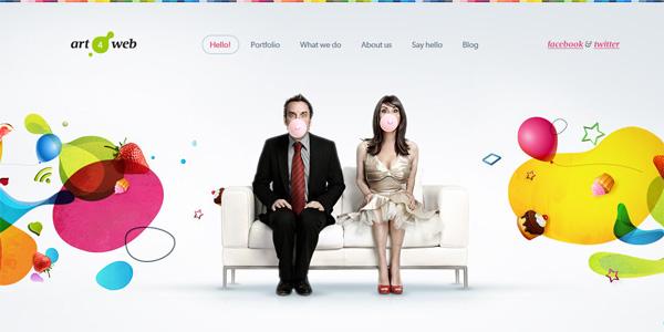 Weboldalak a szivárvány minden színében | weboldal keszites friss  | webdesign web honlapkészítés