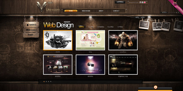 Weboldal fából? | %cagegory | webdesign web inspiráció honlapkészítés