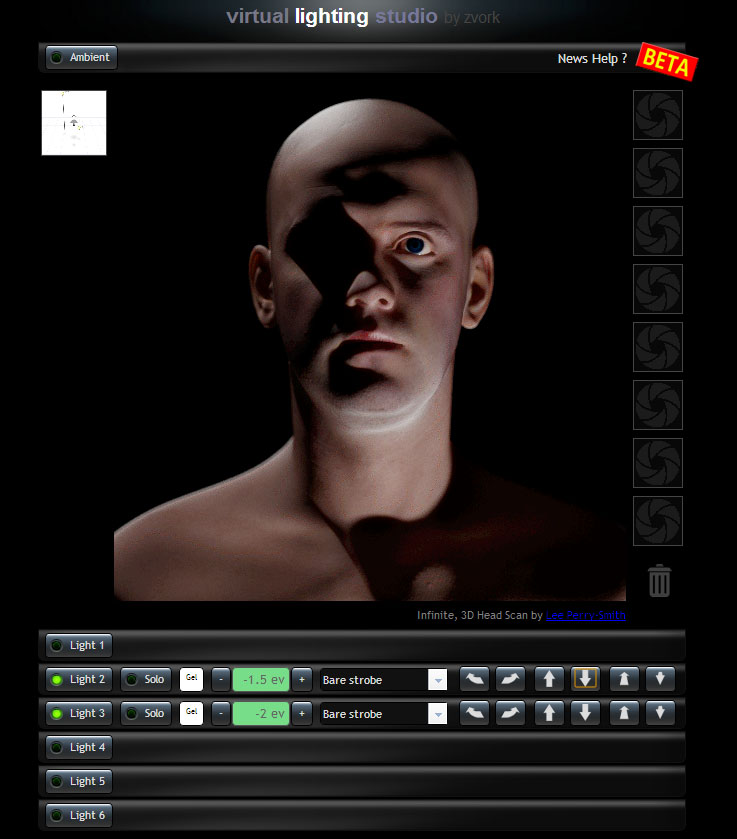 Online segtsg portrfotzshoz: Virtual Lighting Studio | %cagegory | ingyen free foto 