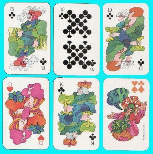 Különleges játékkártyák | print nyomtatott anyagok kreativ friss friss  | póker kártya játékkártya francia kártya