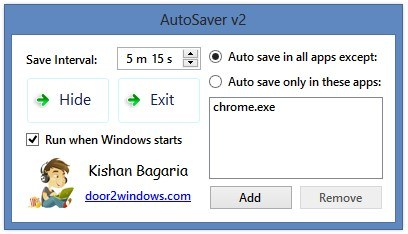 Mentsk munkinkat automatikusan!   AutoSaver | %cagegory | Software Hasznos free 